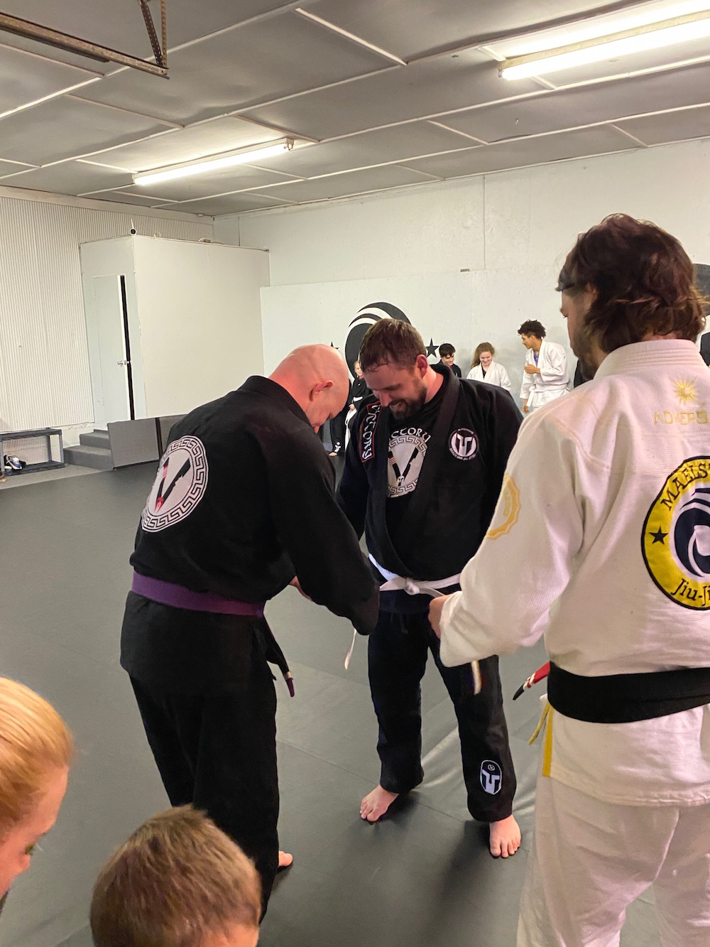Jiu Jitsu for Beginners - getting a stripe