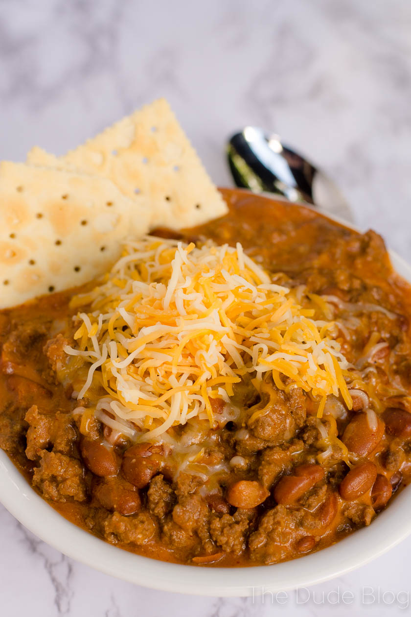 Bowl of elk Chili